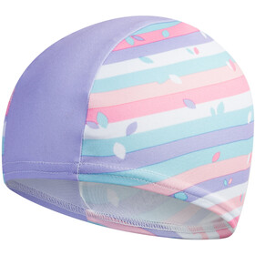 speedo Printed Polyester Bonnet, galinda/hard candy/marine blue